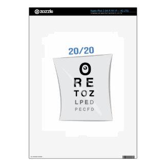 Eye Chart Skins For iPad 3