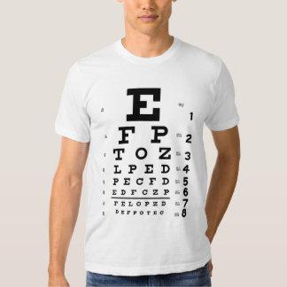 Eye Chart T Shirt