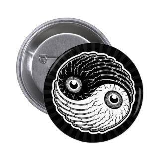 Eye-Ching Pinback Button