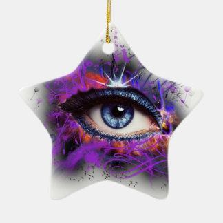 Eye Christmas Tree Ornaments