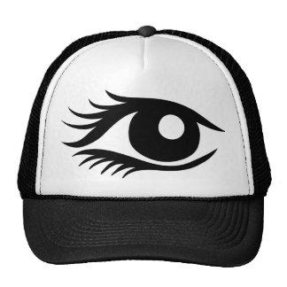 Eye cilia trucker hat