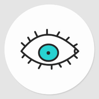 Eye Classic Round Sticker