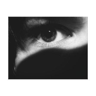 Eye - Closeup Canvas Prints