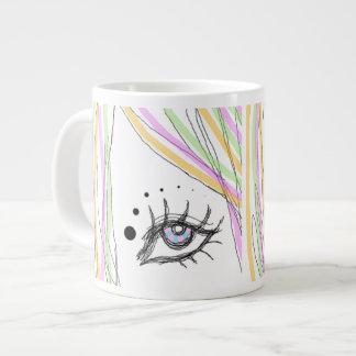 Eye Colorful Giant Coffee Mug