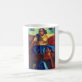 'Eye Contact' ceramic mug