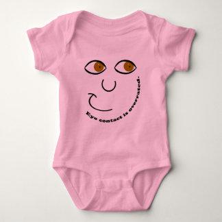 Eye Contact is Overrated Baby Bodysuit