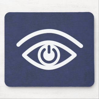 Eye Contact Mouse Pad