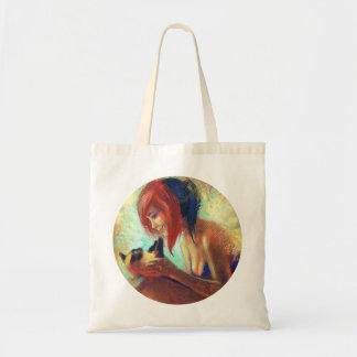 Eye Contact Permitted Tote Bag