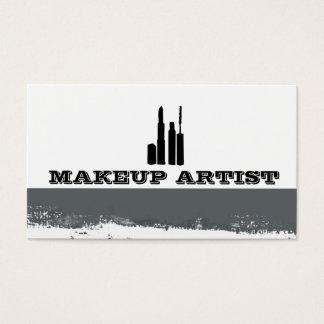 Eye Cosmetics Abstract Splatters Makeup Artist Business Card