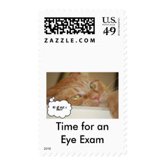 Eye Doctor Humor/It's all a Blur Postage Stamps