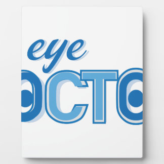 Eye Doctor Plaque