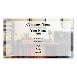 Eye Doctor's Office With Diploma Double-Sided Standard Business Cards (Pack Of 100)