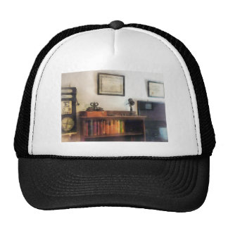 Eye Doctor's Office With Diploma Trucker Hat