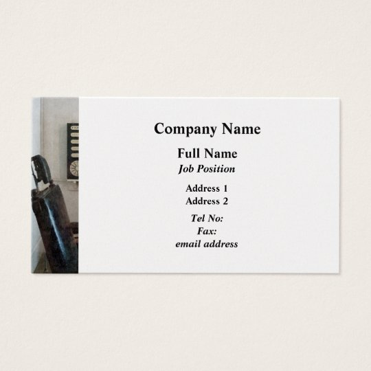 Eye Doctor's Office with Eye Chart - Platinum Business Card