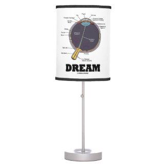 Eye Dream Anatomical Human Eyeball Humor Table Lamp