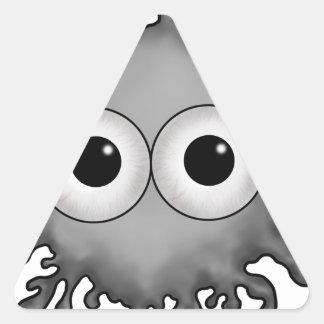 eye drop triangle sticker