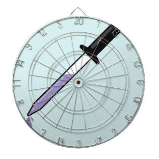 Eye dropper dart board