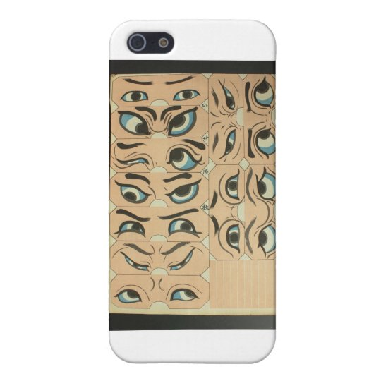Eye Expressions Cover For iPhone SE/5/5s