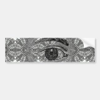 Eye Eye Car Bumper Sticker