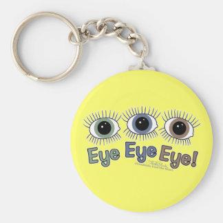 Eye Eye Eye! Keychain