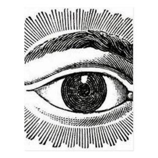 Eye Eye Postcard