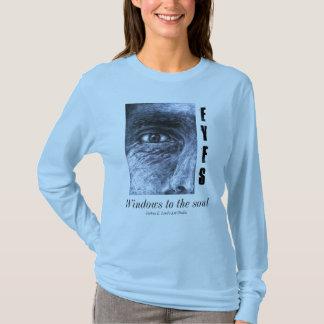 eye, Eyes, Windows to the soul, Joshua E. Lind'... T-Shirt
