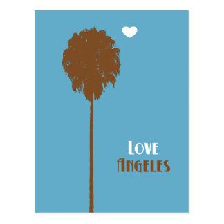 eye fell in love with my penpal... postcard