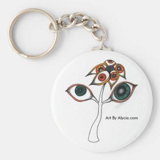 Eye Fleur Key Chain
