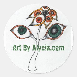 Eye Fleur Stickers
