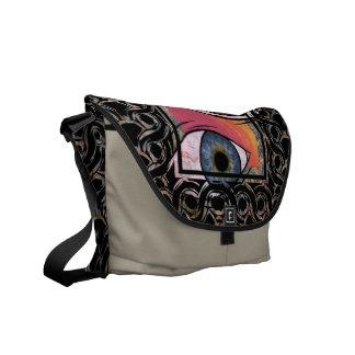 Eye for an eye commuter bag