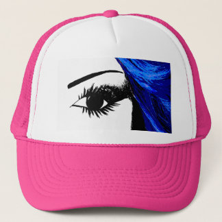 Eye for Fashion Hot Pink Trucker Hat