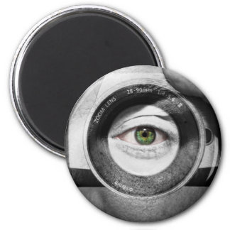 Eye for Photography 2 Inch Round Magnet
