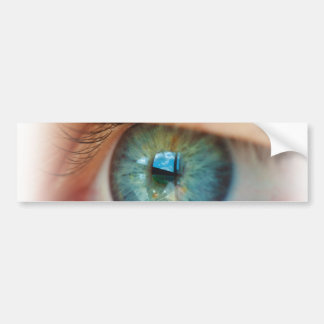 Eye Gaze Bumper Sticker