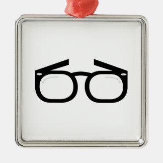 Eye Glasses Metal Ornament