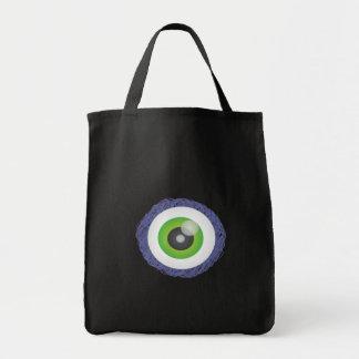 eye grocery tote bag