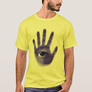 eye hand symbol T-Shirt