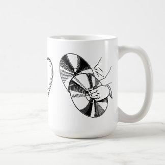 Eye Heart Cymbals I Love Symbols Funny Mug