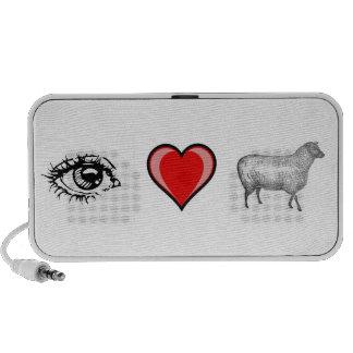 Eye Heart Ewe Portable Speaker