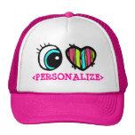 Eye Heart Pictogram, <PERSONALIZE> Hats