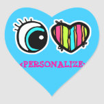 Eye Heart Pictogram, <PERSONALIZE> Stickers