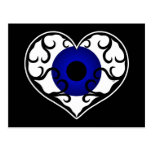Eye heart postcard