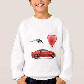 Eye-Heart-red Sweatshirt