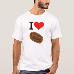 Eye heart scrubbing brush (I Love scrubbing brush) T-Shirt