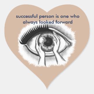 eye heart sticker
