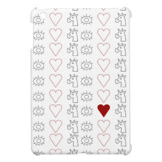 Eye Heart Unicorn iPad Mini Covers