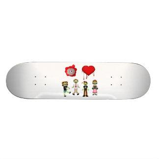 Eye Heart Zombies Skate Boards