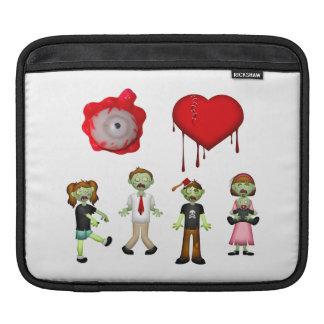 Eye Heart Zombies Sleeve For iPads