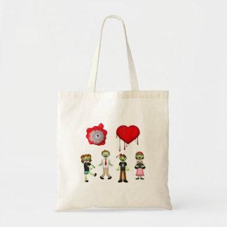 Eye Heart Zombies Tote Bag