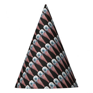 eye hoists cream party hat