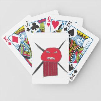 Eye Hurt Guy Bicycle Playing Cards